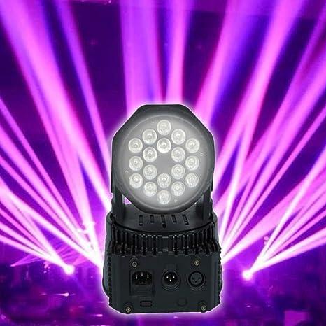 Proyector LED RGB con cabeza orientable móvil para efectos ...