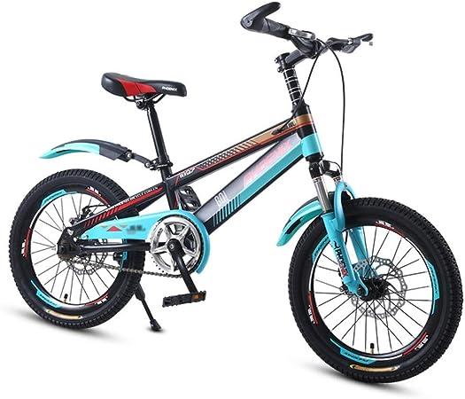 Unknow Bicicletas Niño Bicicleta 18 Pulgadas 20 Pulgadas Estudiante en Bicicleta 3~15 años Bicicleta para niños Velocidad Variable sin escalones Bicicleta Montañismo Bicicleta de montaña Biciclet: Amazon.es: Hogar