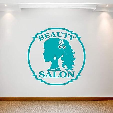 guijiumai Salón de Belleza Etiqueta de la Pared Chica Bonita ...