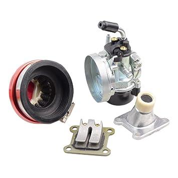 GOOFIT Kit Motor Chino 44mm 44-6 Carburador 19 con Filtro de Aire ...