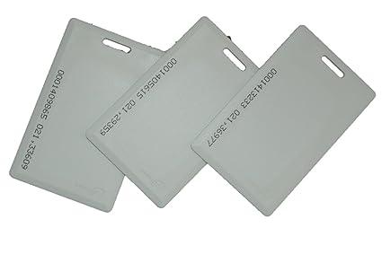 METechs - 10pcs RFID 125KHZ EM Proximity Card for Keyless Door Locks