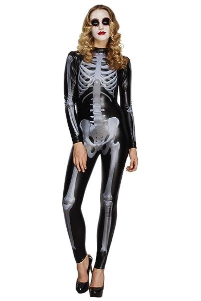 Costume a tema scheletro da donna sexy 585d360cb075