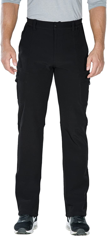 Unitop Men's Winter Warmth Hiking Pants Water-Resistant Ski Snow Pants : Clothing