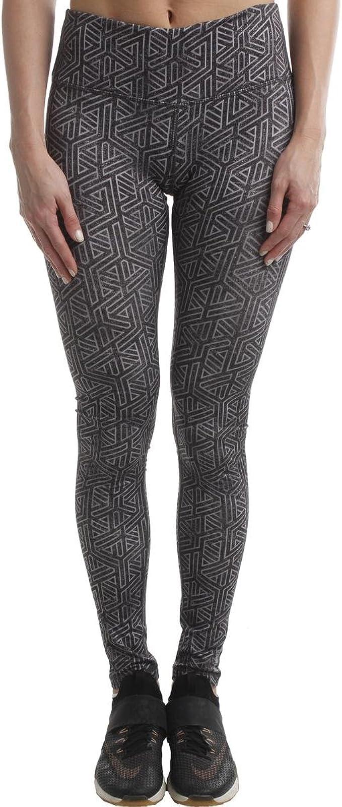 Reebok Womens Modular Yoga Fitness Athletic Leggings at ...