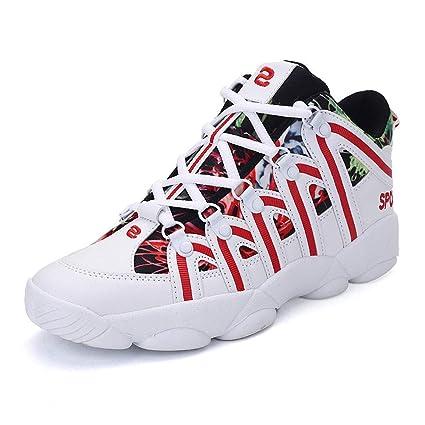 YAN Zapatillas de Baloncesto Unisex Performance Shock Absorption ...