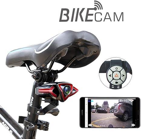 Cámara de Bicicleta grabadora Impermeable 1080P Bicicleta CAM ...