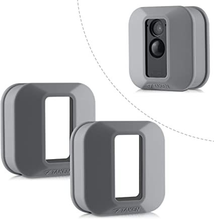 Blink Xt Schutzhülle Silikon Skin Für Blink Xt2 Xt Outdoor Home Security Kamera Uv Und Wasserabweisend Indoor Blink Xt2 Xt Schutzhülle 2er Pack Grau Elektronik