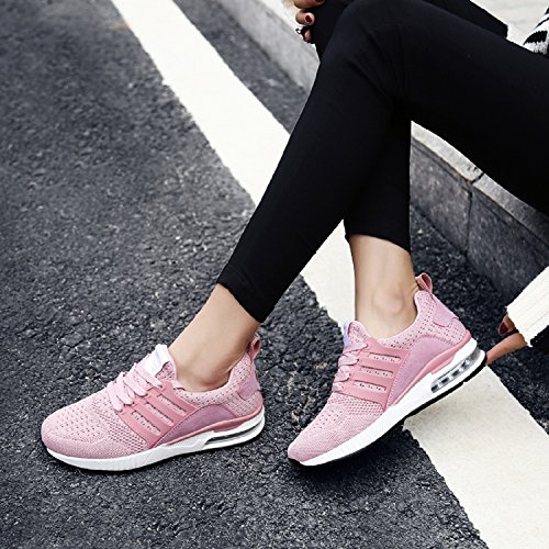 Running Homme Chaussure Fitness De Sneakers Sport Mode Rose Basket Tqgold® Femme Gym x6wTqYAA