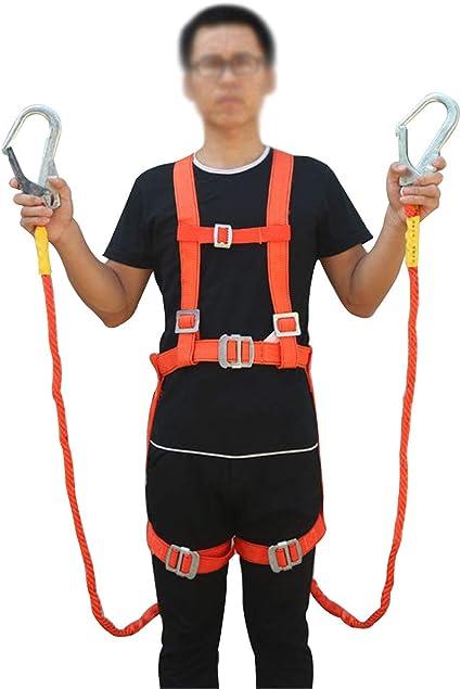 JHKJ Protección contra caídas - Cinturón de arnés Universal ...