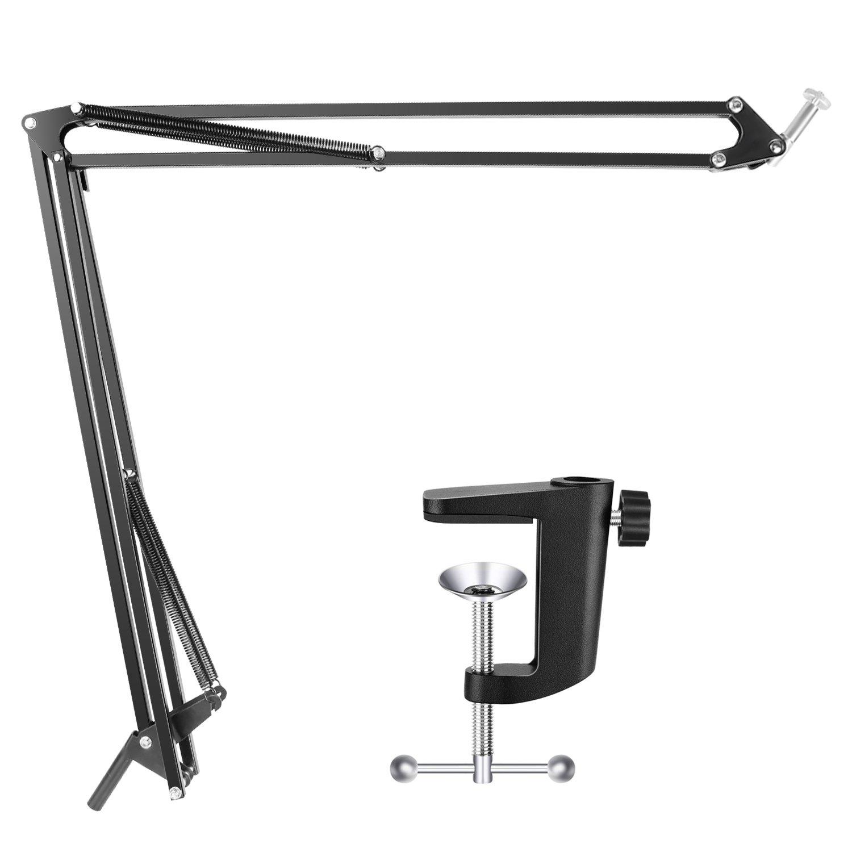 Neewer Stand Asta di Sospensione Braccio a Forbici da Tavolo Regolabile con Base per Logitech Webcam C922 C930e C930 C920 C615 10093365