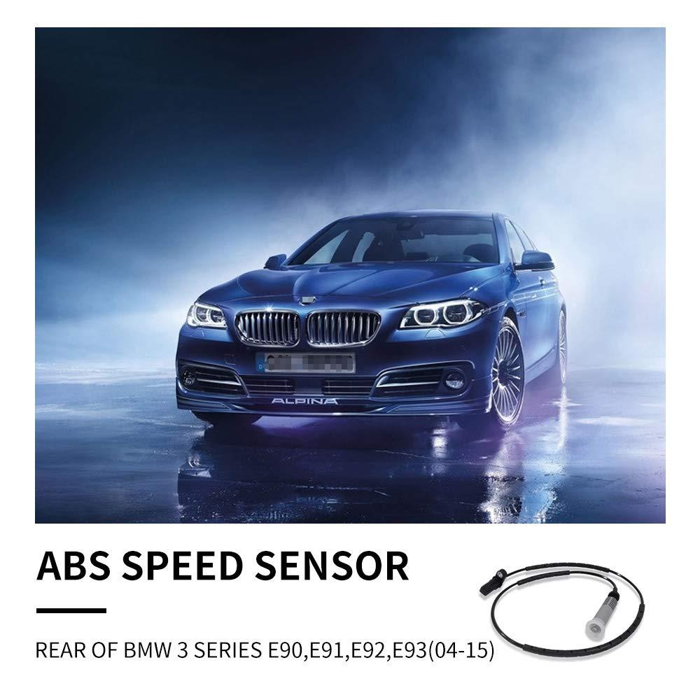 2X ABS REEL WHEEL SPEED SENSOR For BMW 3 SERIES E90,E91,E92,E93 34526762466
