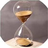 Reloj de arena de 60 minutos de tiempo de 24 cm de altura para regalo creativo, vidrio de arena, reloj de arena, arena…