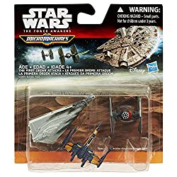 Star Wars The Force Awakens Micro Machines 3-Pack The First Order Attacks