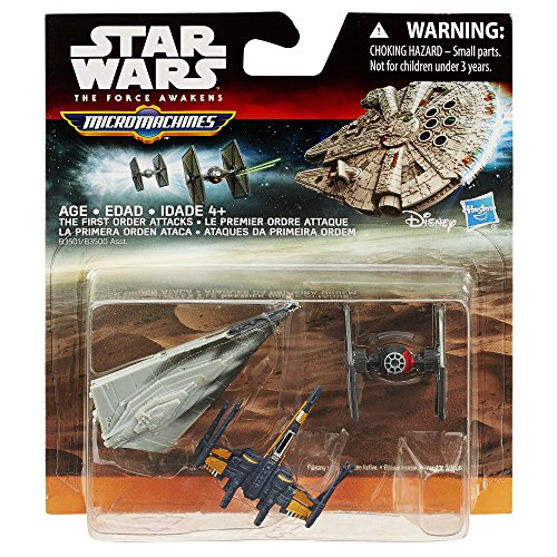Star Wars The Force Awakens Micro Machines 3-Pack The First Order Attacks - http://coolthings.us