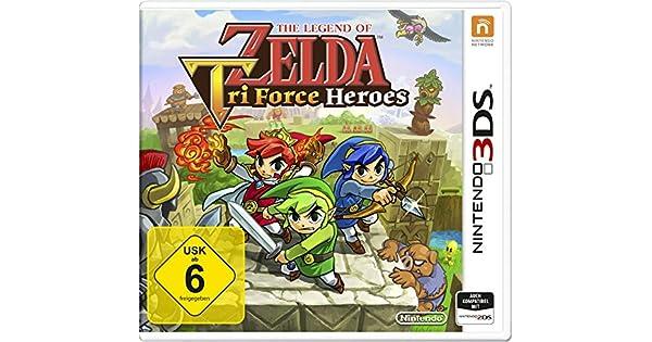 The Legend Of Zelda: Triforce Heroes [Importación Alemana ...