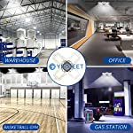 LED Garage Lights, New Upgrade 150W Deformable Four Leaf Ceiling Light, 15000LM Ultra-Bright Trilight Lighting with 4… 14
