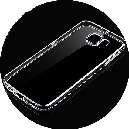 Amazon.com: Carcasa de TPU suave para Samsung Galaxy S6 S7 ...
