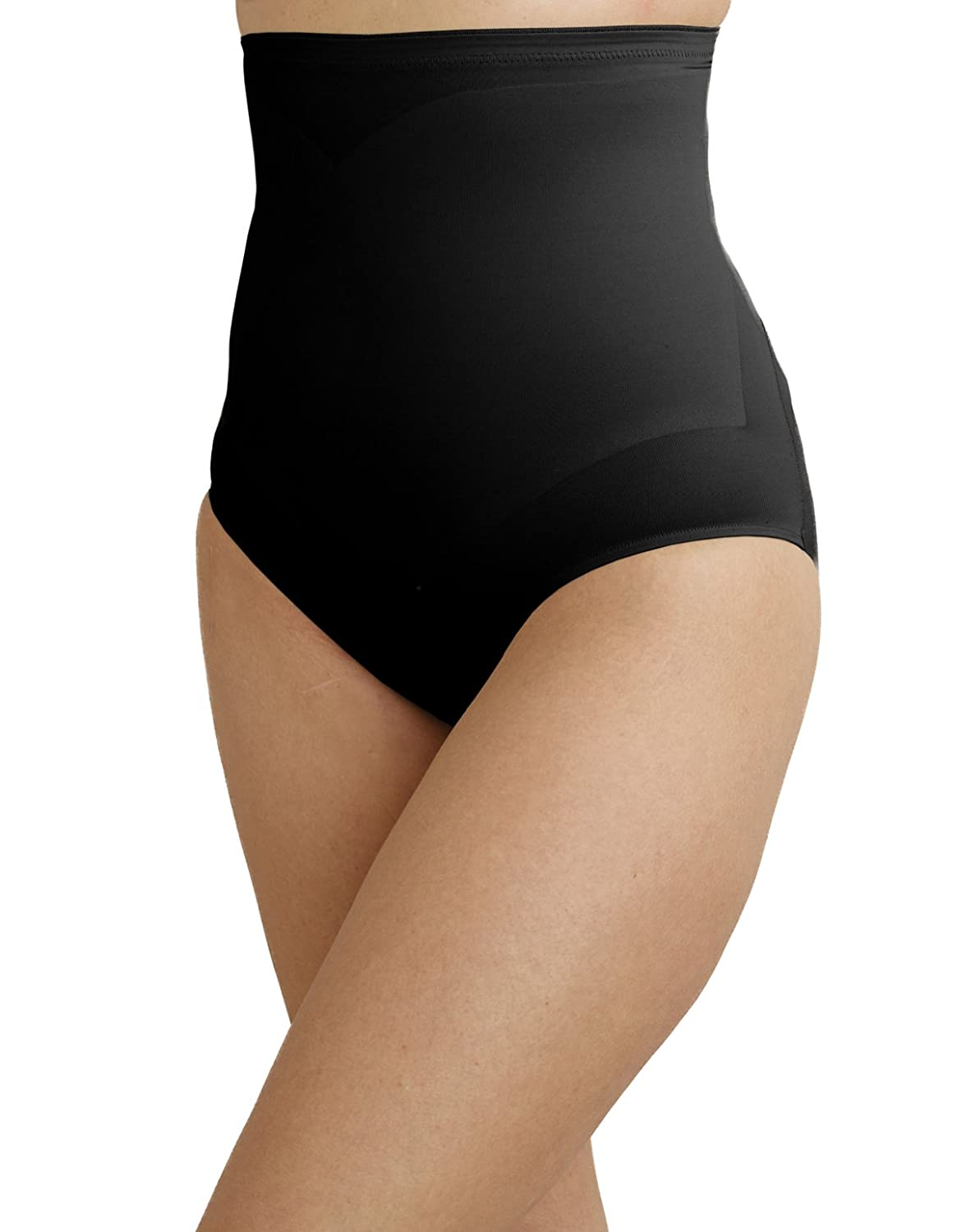 38e5a903135 CUPID 2175-E Women s Black Shaping High Waist Brief at Amazon Women s  Clothing store