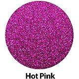 """GERCUTTER Store - 20"""" x 12"""" Siser GLITTER Heat Transfer Vinyl Sheets (20"""" x 12"""" x 1 Sheet) (Hot Pink)"""