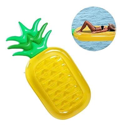 KAIHONG Bouée géant Anana gonflable Flotteur gonflable Lit d'air géant Anana gonflable piscine jouet Jouet gonflable d'été