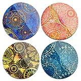 Ceramic Coasters Set of 4,Lizi