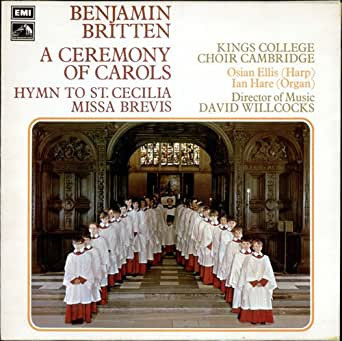 Britten: Hymn to St. Cecilia & Other Choral Works ...