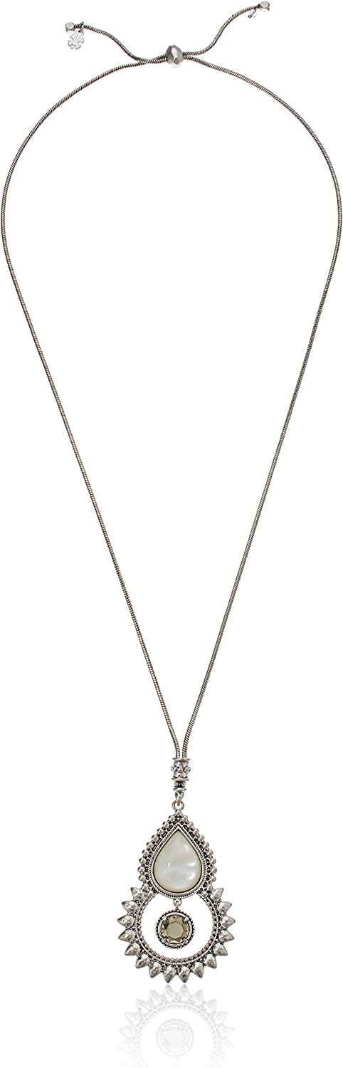 Lucky Brand Womens New Tribal Pendant Necklace