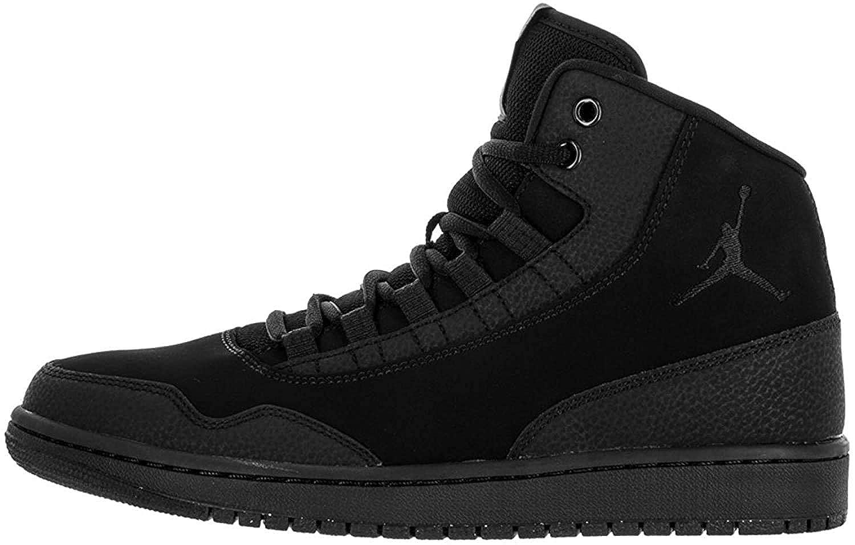entidad Empleador Caliza  Buy Nike Air Jordan Executive Mens Hi Top Basketball Trainers, Black, Size  11.0 at Amazon.in