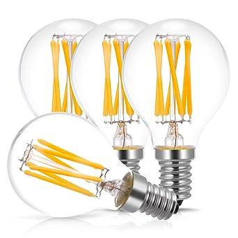 Led6wequivalent Led 4 À De E14 Incandescence Lampe2700k600lmPaquet 60wRétro AmpoulesDoresshop Ampoules 80PXnkwO