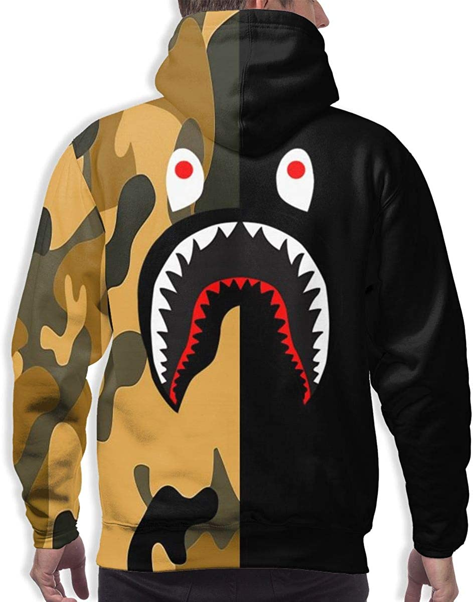 Magic Gathering Bape Comfortable Mens Hoodie Highlights Youthful Personality for Everyday Comfort and Warm,