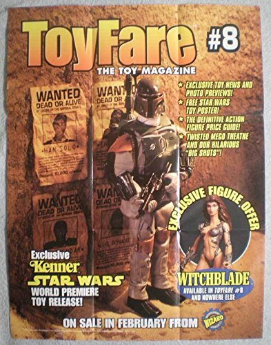 TOY FARE #8 Promo poster, Boba Fett, Star Wars, Unused, more in our