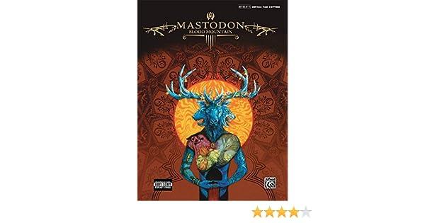 mastodon blood mountain songbook