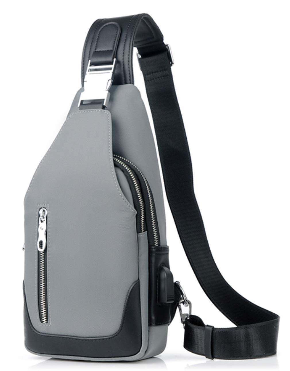 RSQJ Herren Messenger Brusttasche Wasserdichte Multifunktionstasche