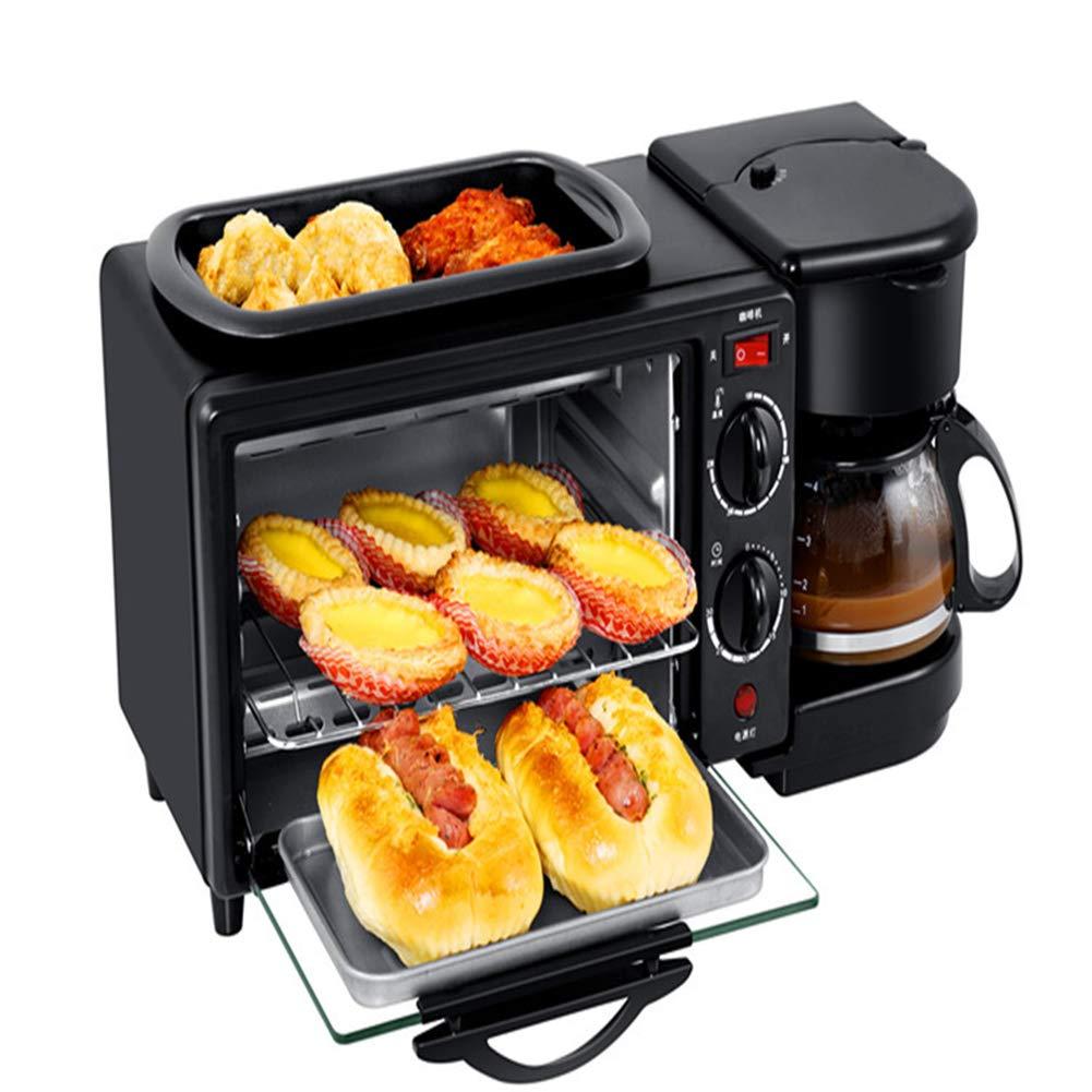Shocly Tostadora Hacer Pan Maquina De Cafe Maquina De Desayuno Mini Horno EléCtrico: Amazon.es: Deportes y aire libre