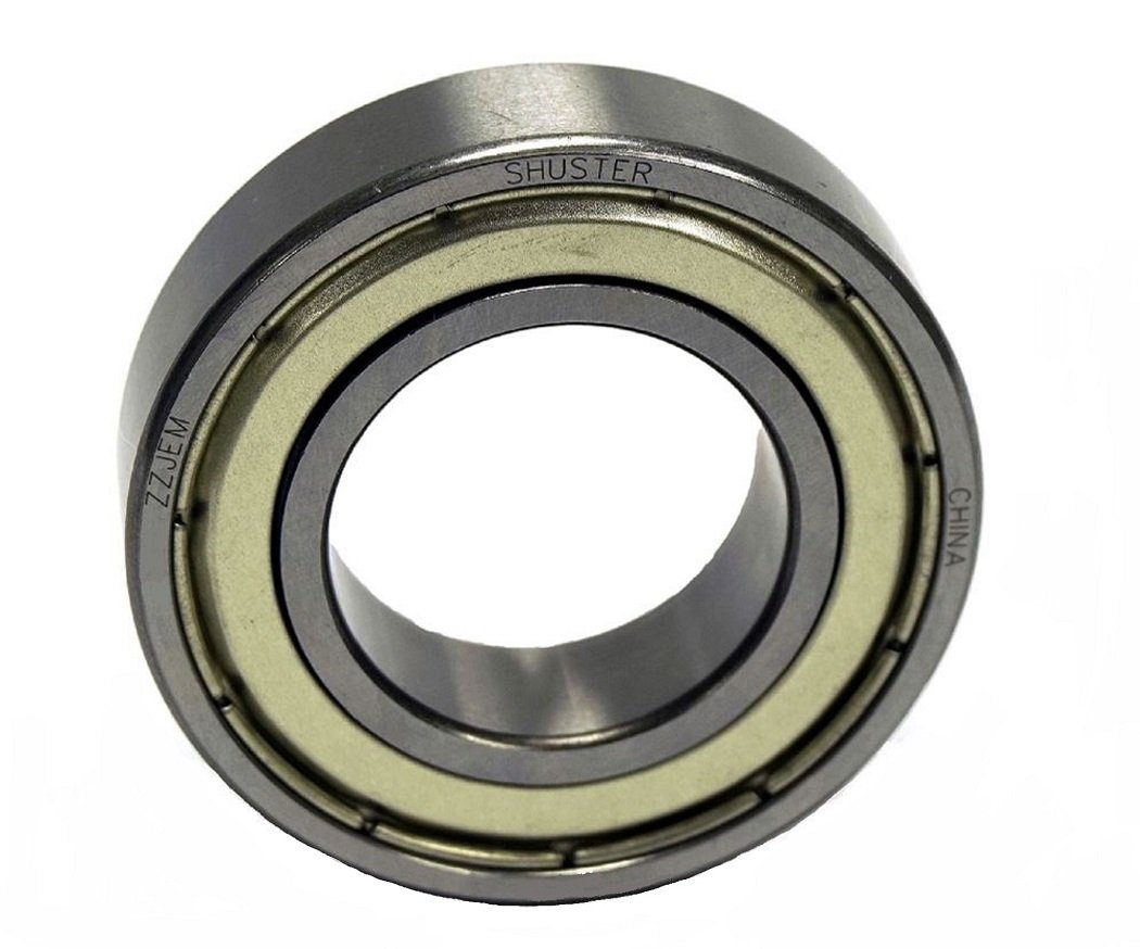 High Carbon Chrome Bearing Steel 35 mm Height Shuster 6003 ZZ JEM Deep Groove Ball Bearing Single Row C3 Clearance Double Shielded 17.0 mm ID 10.0 mm Width 35 mm OD 35 mm Length