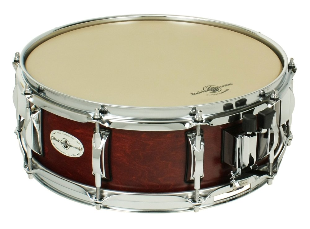 Black Swamp Percussion Concert Maple Shell Snare Drum Cherry Rosewood 14 x 5 in.