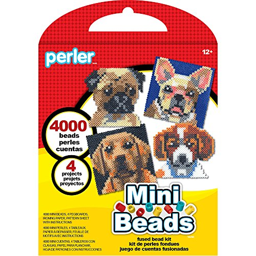Perler Mini Beads Dog Craft Activity Kit 4004 -
