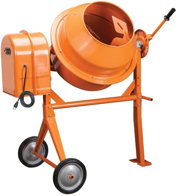 Generic Import Electric Cement Mixer 1/3HP 5 Cubic 10.7 Amp