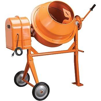 Amazon Com Klutch 1 77 Cubic Ft Electric Cement Mixer