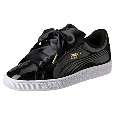 PUMA Women's Basket Heart Explosive Trainers Shoes: White
