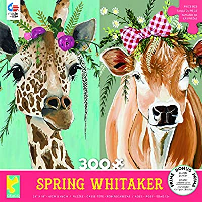 Spring Whitaker Stella & Daisy Puzzle - 300Piece: Toys & Games