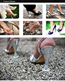 High Heels Protectors for Grass for Weddings and Outdoor Events - Bulk 15 Pair (5S, 5M, 5L)