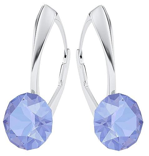 e3e9ed2853e1 Pendientes Crystals & Stones Xirius PIN/75, con cristales de Swarovski®, de  plata de ley 925, en muchos colores, con caja de regalo