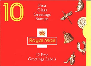 Gb 1991 greetings good luck charm stamps booklet kx 2 amazon gb 1991 greetings quotgood luck charmquot m4hsunfo