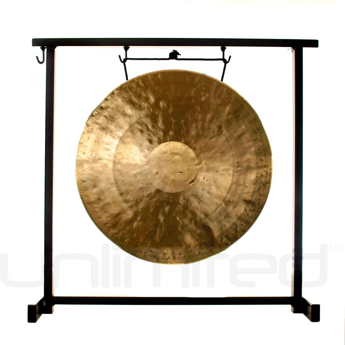 11'' to 12'' Gongs on the Zildjian Table-Top Gong Stand (P0561)