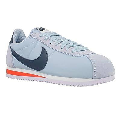 sale retailer 88cf3 a34fb Nike Classic Cortez Nylon - 807472401 - Color Grey-Light Blue - Size  12.0   Amazon.co.uk  Shoes   Bags