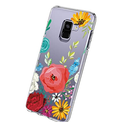 Amazon.com: Funda para Samsung Galaxy A8 Plus 2018, [cristal ...