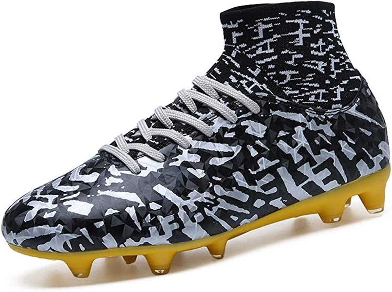 Leader Show Women s Performance Soccer Shoe Outdoor Athletic Football Cleats  (5 63182f1fbe