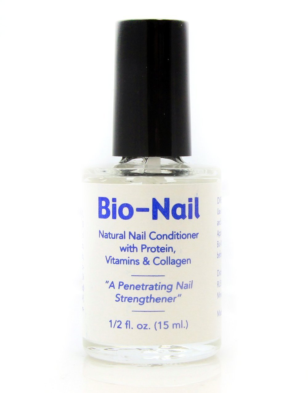 Bio Nail Gorgeous Nail Formula Strengthener Polish Brittle Nails Treatment for Men and Women by Rush Industries