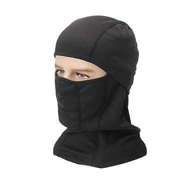 KepooMan Uso múltiple Pasamontañas - Máscara Balaclava de Esquí a Prueba de Viento para el Exterior